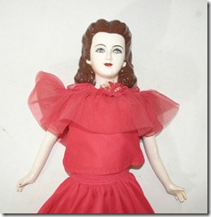 Gone with the Wind Doll Face