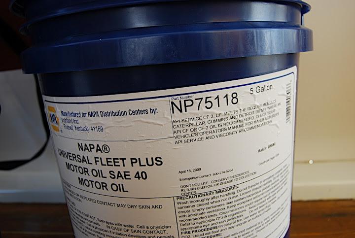 Engine Oil Napa Valvoline