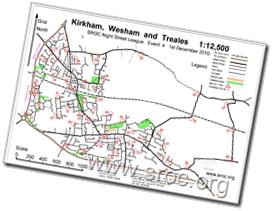 Sample Street-O map