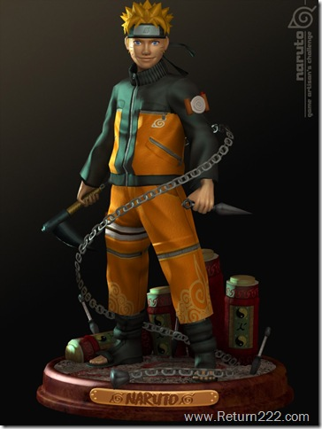 NARUTO_by_3dsquid