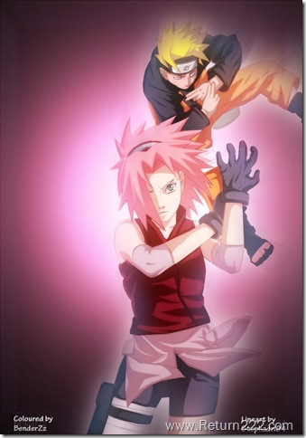 Naruto_and_Sakura_by_benderZz