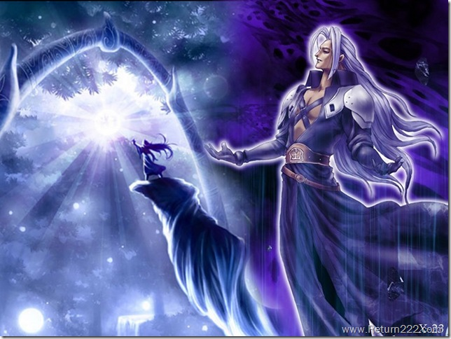 Sephiroth_at_the_Gate_by_RawrnessKitten