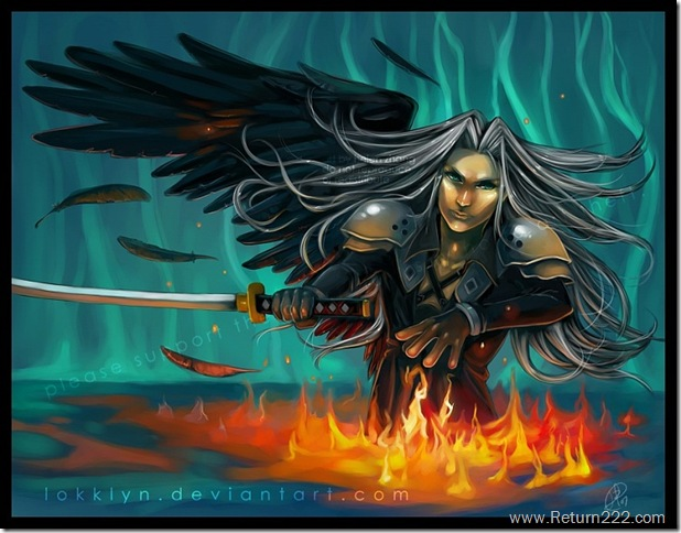 Sephiroth_by_Lokklyn