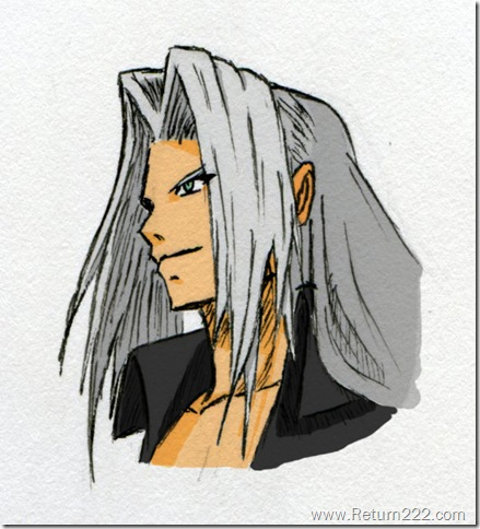 Sephiroth___colored_by_WakerDre