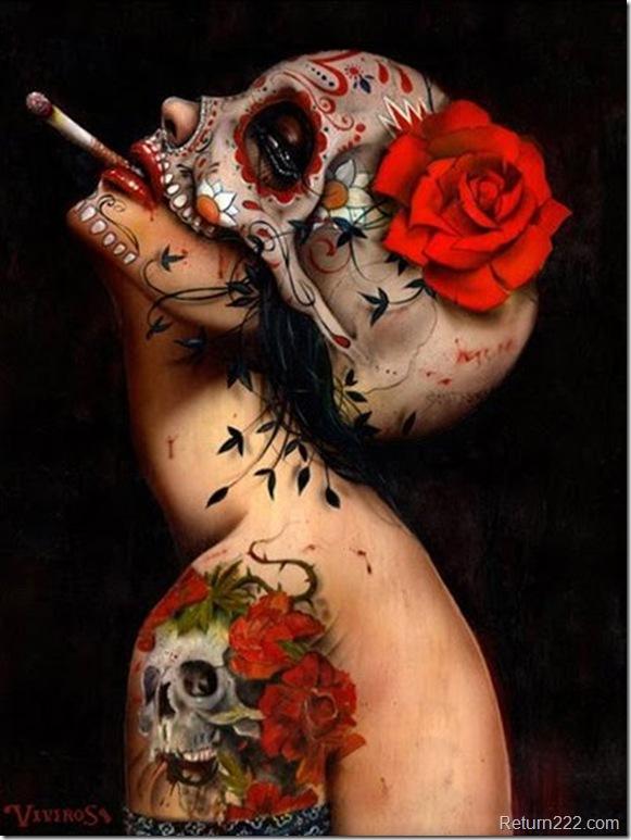 Viva_La_muerte_by_milafersan
