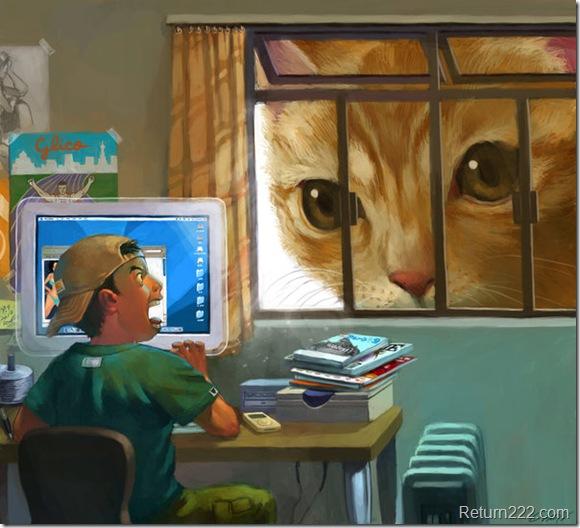 big_big_cat_stared_at_me_by_cuson
