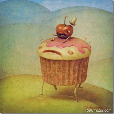 Cupcake_Rider_by_Wetterschneider