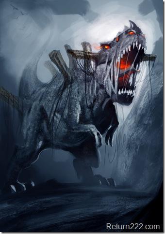 Undead_Demon_Dinosaur_by_Ricardo_Guimaraes