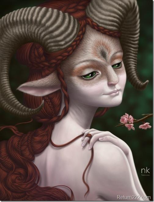 Amaelsh__forest_spirit_by_Nekranea
