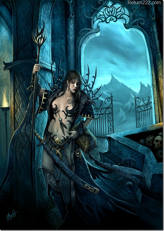 The_night_Witch_by_DusanMarkovic