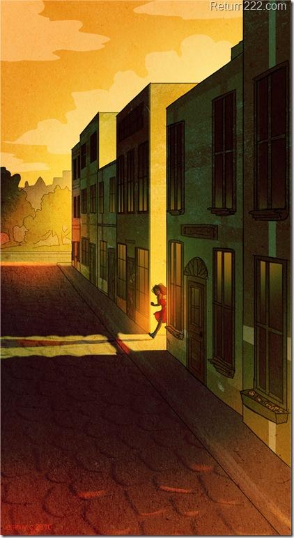Sunset_Street_by_B1nd1