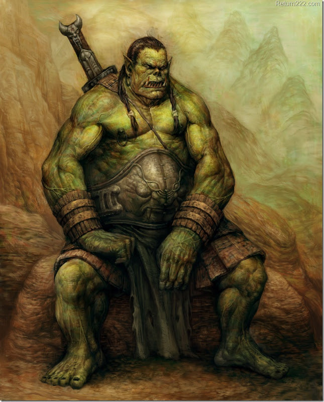 Orc___Finished_by_Keun_chul