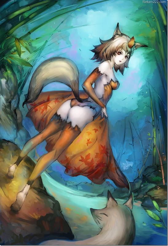 Kitsune_by_Readman