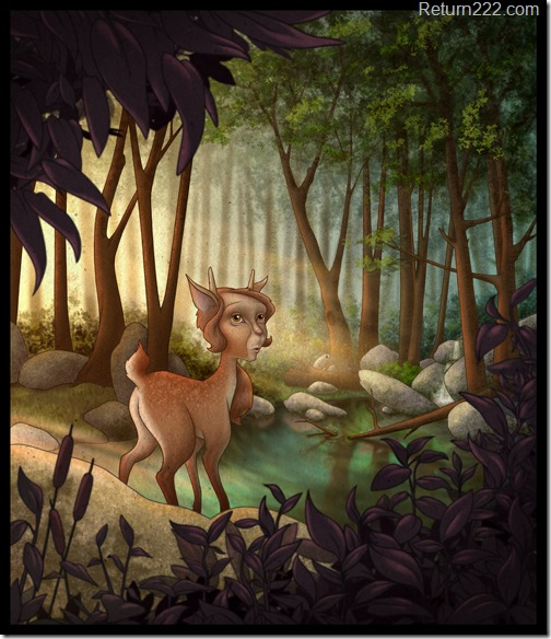 Fauna_in_the_forest_by_Nekranea