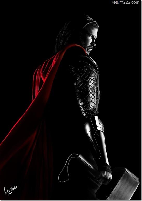 thor___speed_painting_by_witalobdesign-d3dzrco