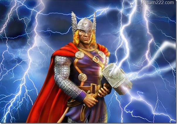 Thor 1st pose