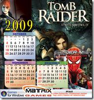 Free Kalender 2009 Game Edition