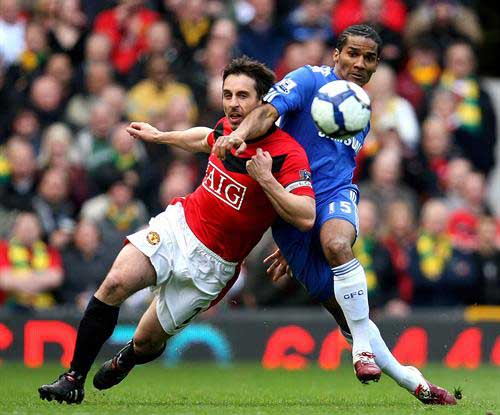 Football - Manchester United v Chelsea Barclays Premier League
