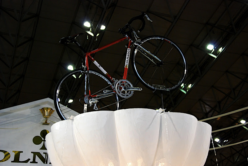 A bike worthy of a placement in a fountain!
