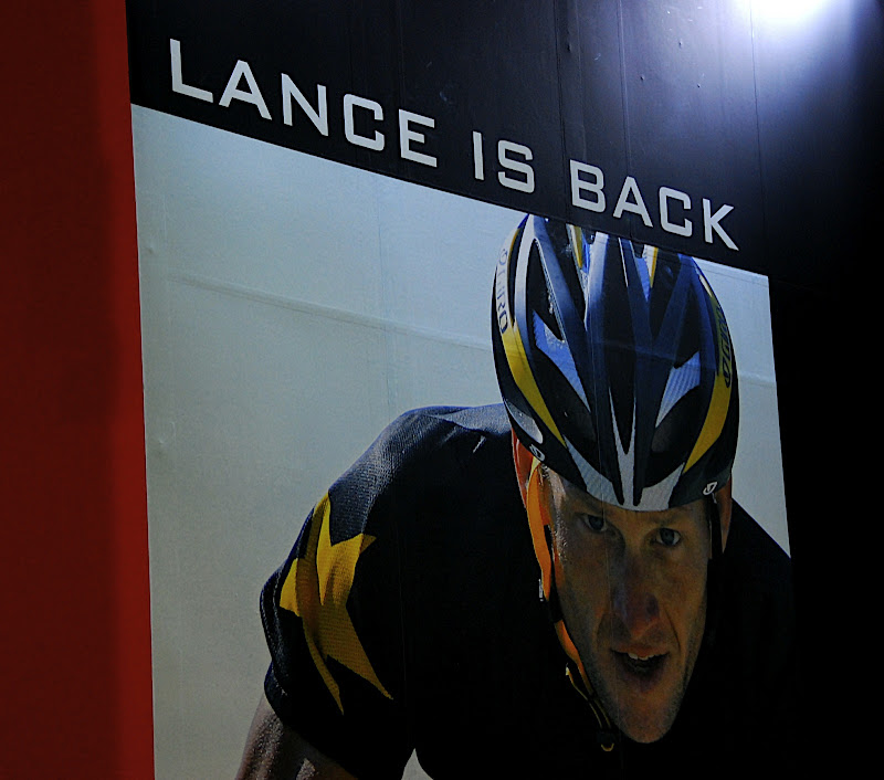 Lance is back baby!  (maybe)