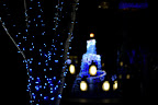 Shinjuku Southern Terrace tree and penguin lights