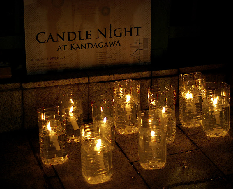 Candle Night at Kandagawa