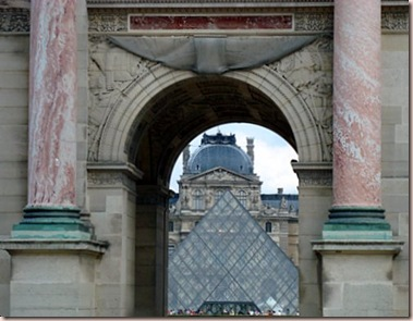 Louvre thru small Arc