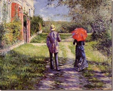 Gustave_Caillebotte rising road