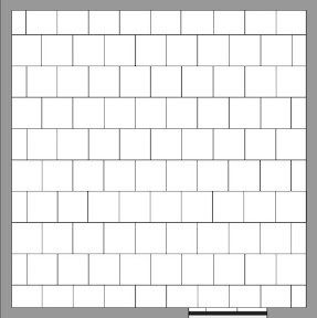 Tile - offset pattern