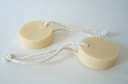 Soap on rope simplemente blanco beach house living
