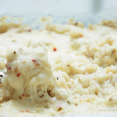 Easy Cheesy Cauliflower Gratin Recipe (Low Carb and Gluten Free)