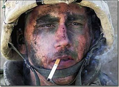 soldier-smoking