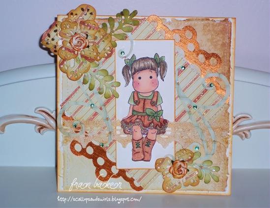 Tilda with Tulle Skirt Card