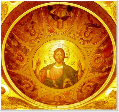 Christ Pantocrator- St. Demetrios Cathedral in Craiova