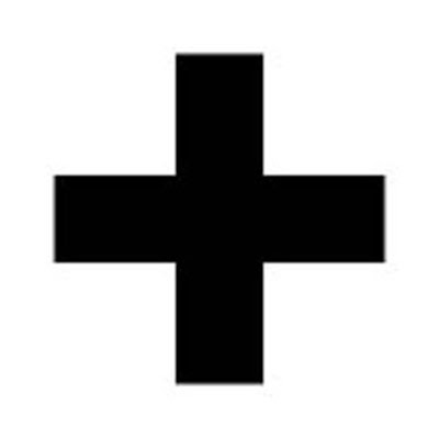Greek cross -  Also known as the crux immissa quadrata. Has all arms of equal length.