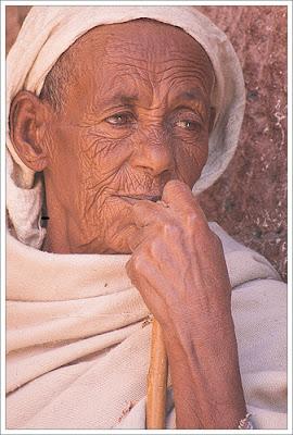 Ethiopian Orthodox Nun