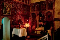 Old City, Jerusalem, Israel- Ethiopian Orthodox Chapel of the Church of the Holy Sepulchre