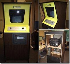 Arcade de PONG que ficava nos bares e rodoviárias da vida.