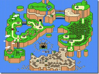 Mapa da Terra dos Dinossauros - Blast from the Past: Super Mario World - Nintendo Blast