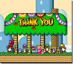 Os Yoshis finalmente foram salvos com a Princesa Toadstool - Blast from the Past: Super Mario World - Nintendo Blast