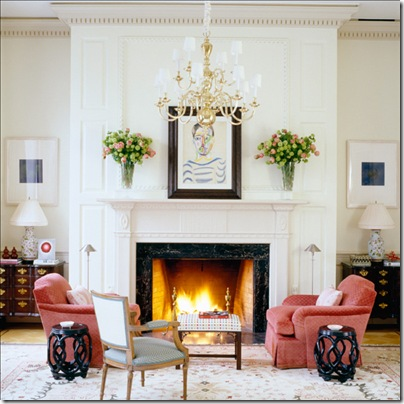 todd alexander romano living room rose chairs