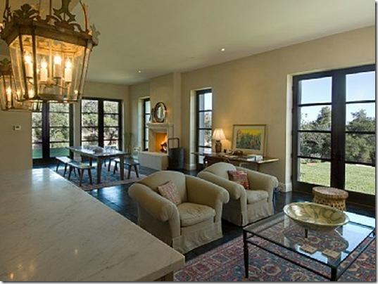 Heraldsburg Palladian villa great room