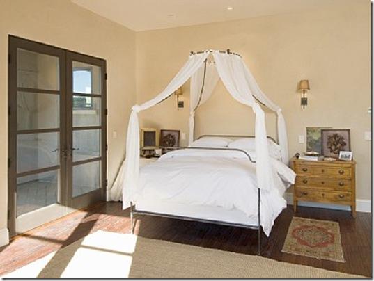 Heraldsburg Palladian villa master bedroom