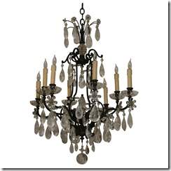 1st dibs sutter antiques rock crystal chandelier
