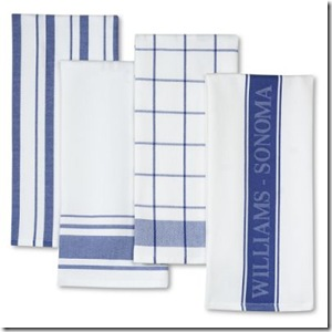 ws home blue towels