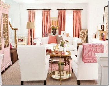 alkemie pink living room