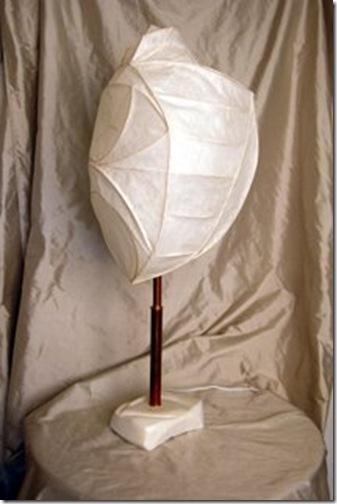 Perch- Viorel Hodre rice paper lamp
