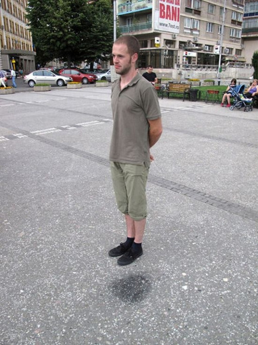 Secret of the Levitating Man [Pic]