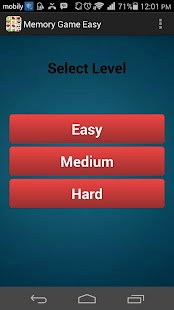 Easy Memory Game Free 2015 - screenshot