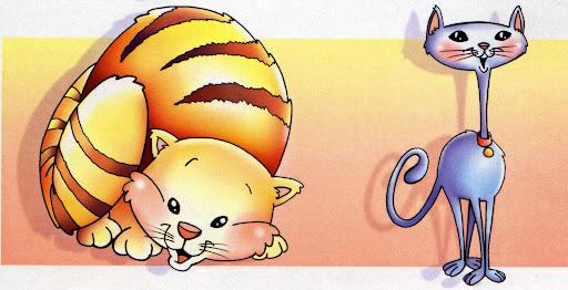 Imágenes de gordo y flaco para colorear - Imagui